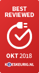 Best Reviewed oktober 2018